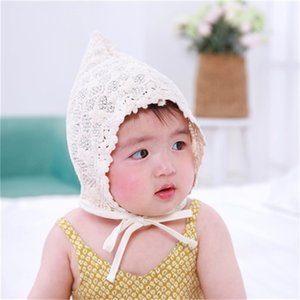 Spring Summer Cute Princess with Solid Color Lace Baby Child Kids Mesh Cap Girl Sun Hat