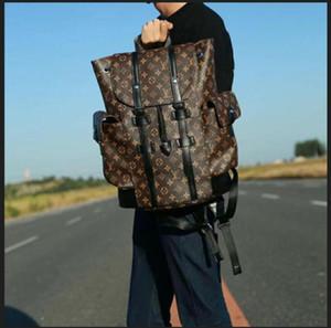 1-0LVLOUISVUTTON CHRISTOPHER men travel backpacks leat shoulder bag women Backpack designers handbag school bags satchel bag
