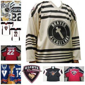 14 Dougherty Vancouver Giants 22 Henry 22 Kassian Hockey Jersey Ponto Bordado pode ser personalizado com qualquer número e nome