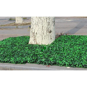 Wholesale 60pcs Artificial Grass Plastic Boxwood Mat Topiary Tree Milan Grass For Garden,home ,store,wedding Deco jllQay xmh_home