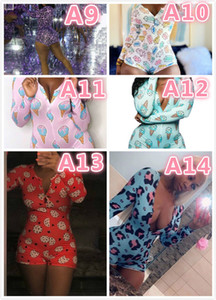 Women long Sleeve Jumpsuit Fashion Skinny Pajama Onesies Sexy Rompers Elegant Homewear Pullover Comfortable Clubwear high quality new womens