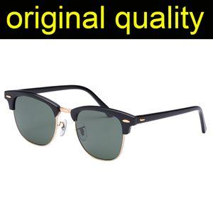 Top Qualität 3016 Sonnenbrille Männer Frauen Acetatrahmen UV400 Glas Objektiv Sonnenbrille Für Mann Frauen Beschichtung Linse Fahren Eyewear für Männer / Frauen