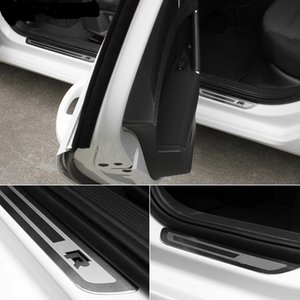 Für Volkswagen VW Golf 5 6 7 7.5 8 GTI R-LINE JETTA POLO T-ROC TROC Touran Passat ultradünne Autotür-Sill-Platten-Kits