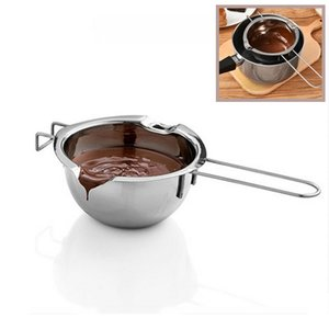 304 Stainless Steel Chocolate Melting Pot Cake Tools Double Boiler Melting Candy Candle Fountains Wax Cheese Bowl Butter Warmer