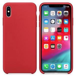 Original Silicone Case For iPhone 12 11 Pro Max x xs xr 8 7 6 6s Plus Phone Case For iphone xs max With Retail Box