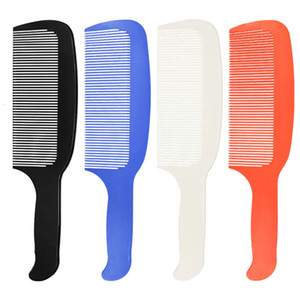 Hairdressing comb haircut comb men's plastic push shear flat hairdresser haircut Comb New Style
