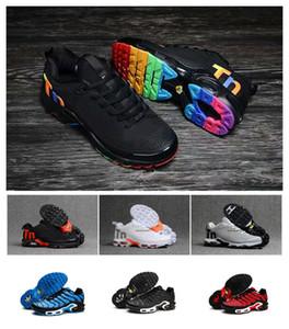 97 Tn Barato Nuevo Mens Tn Designer Shoes Chaussures Homme Tn Plus Mujer Zapatillas de deporte Zapatillas Hombre Tns Cushion Run Shoe Eur 36-46