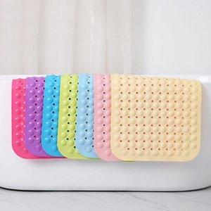 ZL Badezimmer-Teppich-Anti-Slip-Badewanne Badewanne Rutschfeste Matte Badezimmer Fußmatten Maschinenwaschbares und Mehltau