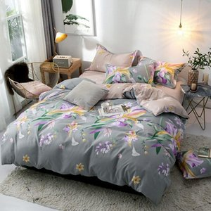 Bedding Sets 40 Bed Cover Set Cartoon Duvet Sheets And Pillowcases Comforter 2TJ-61001