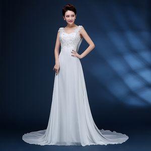 ZJ9054 2021 High Quality White Ivory Wedding Dresses Bridal Dress Plus Size Maxi For Women