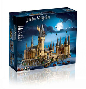 2020 hot 6120PCS Hogwarts Harry castle Series Model Building Blocks ing Toys For Children Interesting Gifts