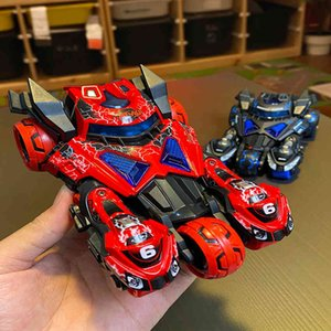 Three in one catapult chariot Huili alloy car with light and music cool two motorcycle children's toyRKDF