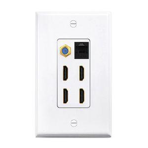 HDMI American wall socket American Hotel wall plug 16A 125V