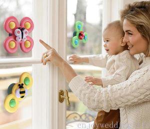 DHL Schiff Zappeln Spinner Babylgloy Toy Bad Elternkind Interaktion Relax Finger Butterfly Insekten Bienen FY4472