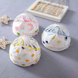 Newborn Gauze Fetal 0-3 Months Pure Cotton Baby Empty Top Summer Thin Halogen Door Cap
