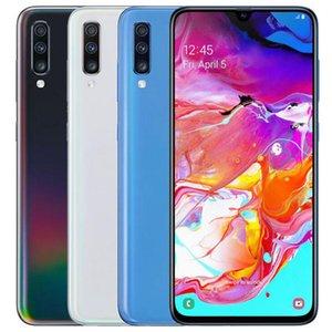 Оригинальный отремонтированный Samsung Galaxy A70 A705FN / DS Dual SIM 6,7 дюйма OCTA CORE 6 ГБ RAM 128GB ROM 32MP разблокирован смарт-сотовый телефон DHL 5 шт.