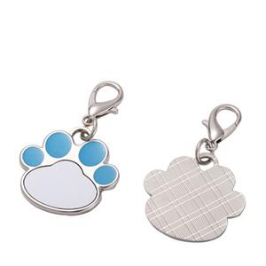 Сублимационная пустая лапка Tag Personized Id Tags Теги Термопередача PET PET PET BANT с Keyring GWB9480