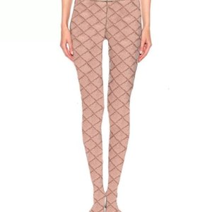 패션 편지 인쇄 Womens 스타킹 겨울 다리 따뜻한 여성 스타킹 스타킹 여성 나이트 클럽 파티 섹시 팬티 스타킹