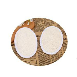 LOOFAH الطبيعي لإزالة الجلد الميت منشفة حمام منشفة القرع حمام الكرة اللوف غسيل المنزل أو حمام داخلي الإسفنج OWA3374