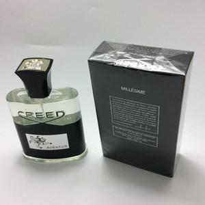 New Creed Aventus Perfume para Men Colonia 120ml con tiempo de larga duración Buena calidad de olor de alta fragancia Capacity + Envío gratis SG