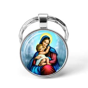2019 Hot Sale Christian Jesus Key Chains Pendant Women Bag Charm Keychain Men Car Keyrings Holder Fashion Jewelry Accessories