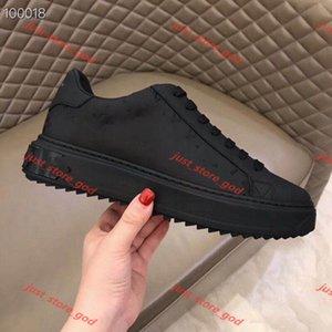 Louis Vuitton LV Top Quality Real Cuir Lace-up Low-Top Casual Single Mode Chaussures Forever_Ever Pour Hommes Chaussures de mode pour Man Original Semelle extérieure 38-46