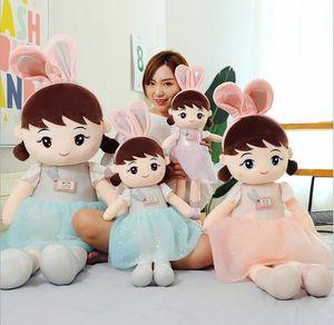 45 cm Ragdoll Peluche juguete lindo niña muñeca muñeca cama acompaña almohada para dormir regalos de juguetes para niños