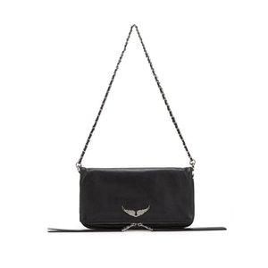Новые женские сумки женские сумка для посылки Zadig Real Voltaire сумка (2 цепей) кожаная сумка для коровьей сумки и сумка 210729