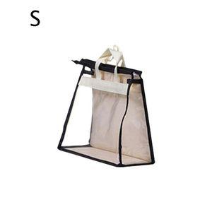 Bolso transpirable Tapa de polvo Bolsa de almacenamiento a prueba de polvo A prueba de humedad S / M / L / XL Bolsa de cuero Protección de bolsa de tela no tejida + tablero de PVC