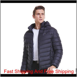 Paratago New Men Women Heating Jackets Winter Warm Usb Heated Clothing Thermal Cotton Hiking Hunting Fishing qylhiD pthome