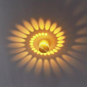Spotlights Spotlight LED Ceiling Embedded Rotating Light Painted Aluminum Downlight Aisle For Living Room