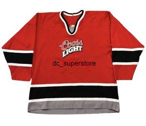 economico personalizzato vintage cooors leggero ccm rosso hockey jersey punto aggiungi qualsiasi nome numero uomo bambini hockey maglie XS-5XL