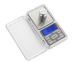 حار ميني جيب مقياس الالكترونية 100 جرام 200 جرام 0.01 جرام 500 جرام 0.1 جرام مجوهرات مقياس الماس مقياس العرض شاشة LCD مع حزمة البيع بالتجزئة 8 S2