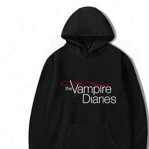 The Vampire Diaries Hoodies women mens Long Sleeve hodies Pullovers Sweatshirts hoodie Women Men Casual hooded clothes unisex