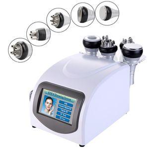 Cabina de cuerpo multifunción Cavitación ultrasónica 40K RF Multipolar Multipolar RF Ajuste de vacío Máquina adelgazante Equipo de RF Envío gratis