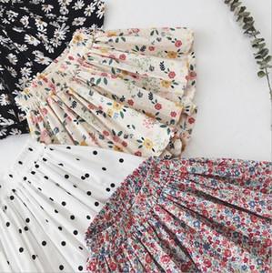 Daisy falda Pantskirt Girl Tutu Shorts Lovely Summer Foreign Style Fin Thin Algodón Pantalones de pierna ancha Baby Mini Flor Daisy Kid Ropa WMQ604