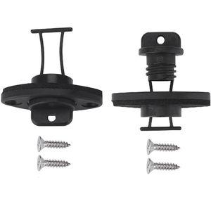 2Pcs Drain Plug Kit Universal Thread Drain Plug Bung for Kayak Canoe Boat Outdoor Water Aports Kit