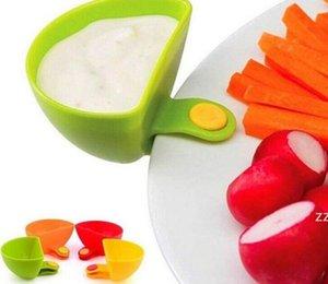 Jam Dip Clip Bowl ассорти салат соус кетчуп ящики ассорти из салата соус кетчуп варенья диплом зажима чашка чаша кухонная блюдце посуда HWE8824