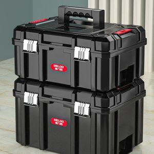 Tool Organizers Suitcase Professional Tools Portable Multifunction Equipment Organizer Box Waterproof Plastic Werkzeugkoffer Storage