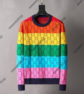 Paris mens women color print Sweaters classical color letter printing Sweater casual high quality fashion womens designer Sweatershirts