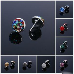 Pretty Earrings for women rhinestone crystal party boho earrings channel Stud Earrings