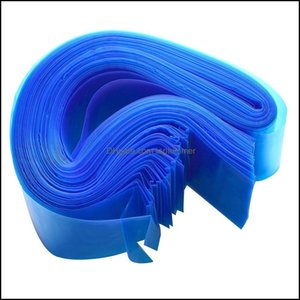 Transfer Tattoos Body Art Health & Beauty100Pcs Pro Disposable Plastic Blue Clip Cord Sleeves Er Bag Professional Aessory For Tattoo Hine Su