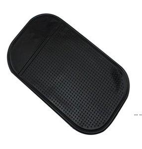 الهاتف المحمول محدودة زلة الوسادة سيارة جديدة حصيرة لزجة وسادة سيارة العنكبوت غير زلة سيليكون حصيرة الهاتف المحمول زلة المضادة للانزلاق حصيرة مصغرة الوسادة DHC6621
