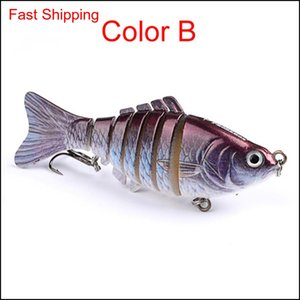 Fishing Lures Wobblers Swimbait Crankbait Hard Bait Isca Artificial Fishing Tackle Lifelike Lure 7 Se jllxhs yycolor