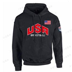 Tide basketball dream for fashion america team loose exercise USA men hoodies free shippingPAS3