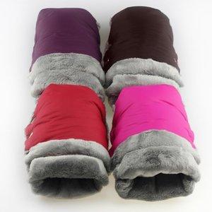 Stroller Parts & Accessories 2pcs Winter Warm Gloves Waterproof Pram Accessory Mitten Hand Muff Baby