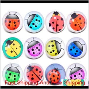 10Pcs Lot Mixed Wind Chimes Pattern 18Mm Glass Snap Button Jewelry Faceted Glass Snap Fit Snap Earrings Bracelet Jewel Bbywpw Zqzhy Hdkic