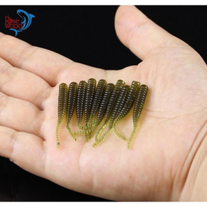 200pcs 4cm 0.3g Bass Fishing Worms 10 Colors Sile Soft Plastic Fishing Lures Artificial Bait Rubber I jllpNH sport77777