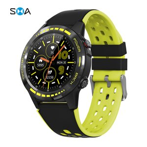 New M7gps Sport Watch Heart Rate Blood Pressure Call Multi Mode Compass Altitude Smart