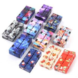 Infinity Magic Cube Creative Sky Fidget Antistress Game Toys Office Flip Puzzle Mini Blocks Decompression Funny Toy Wholesale